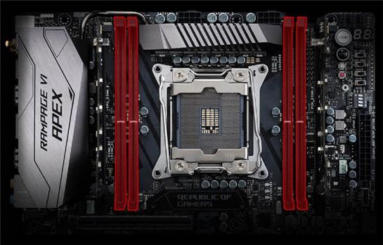 Asus ROG Rampage VI Apex (90MB0UC0-M0EAY0) günstig im Online-Shop