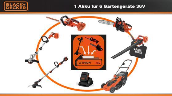 Black Decker in Akkus & Ladegeräte für Elektrowerkzeuge